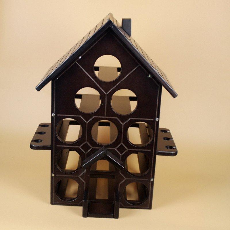 创意家居家装欧式红酒架摆件客厅房间装饰品酒柜摆设