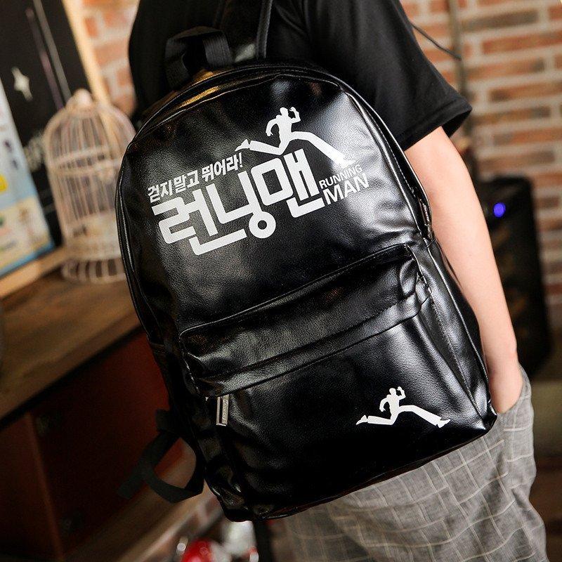 c2潮朝2015韩版双背包潮流学院风双肩背男款中学生书包合集图片