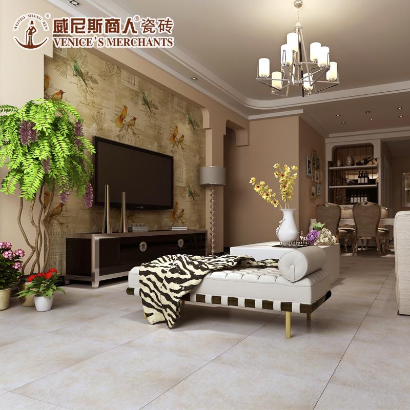 美式仿古砖500*500 现代简约客厅防滑地砖彩色瓷砖