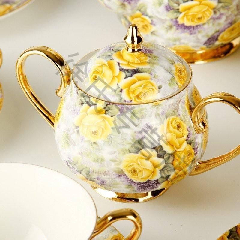 欧式茶具套装咖啡具英式下午茶茶具咖啡杯