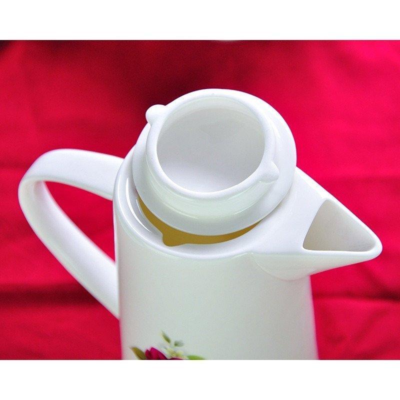 水杯套装家用陶瓷茶杯骨瓷茶水具礼品杯子套装结婚简约冷水壶图片