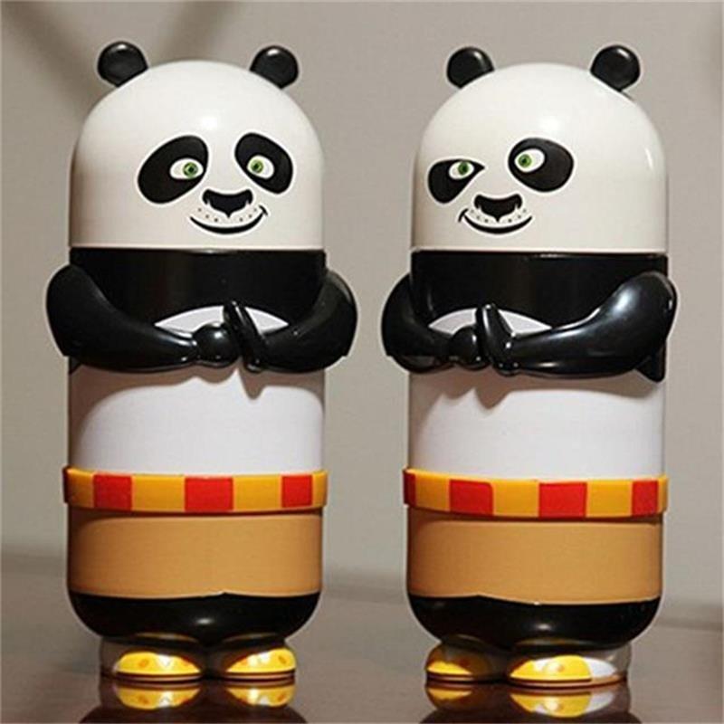 功夫熊猫玻璃杯 卡通人物杯子