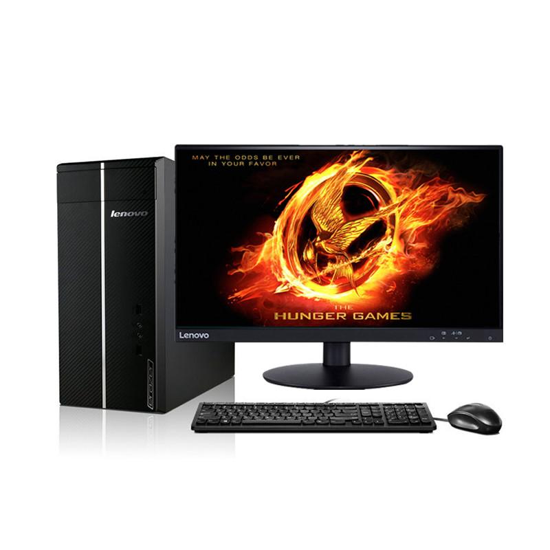 联想(lenovo)d5050台式机电脑 21.5英寸双超显示屏(i3图片