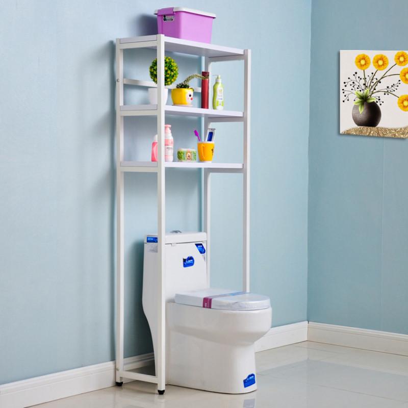 苏鼎创意钢木结构洗衣机置物架