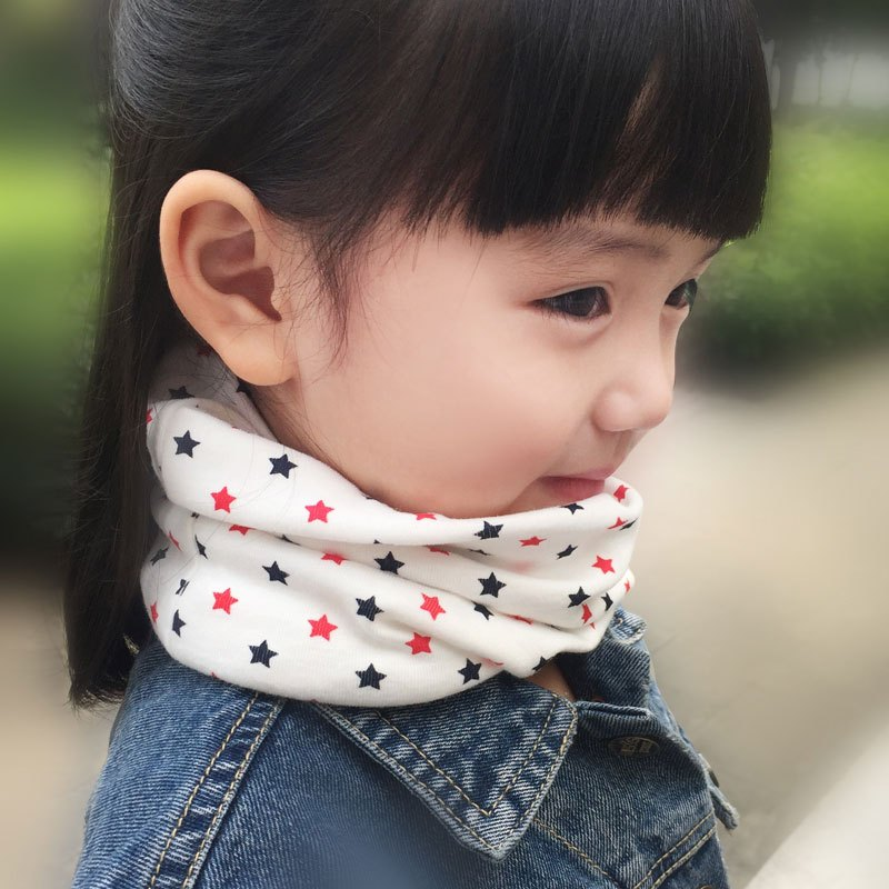 可爱卡通笑脸儿童围脖2016秋冬季新款韩版男单女童时尚潮保暖脖套围巾