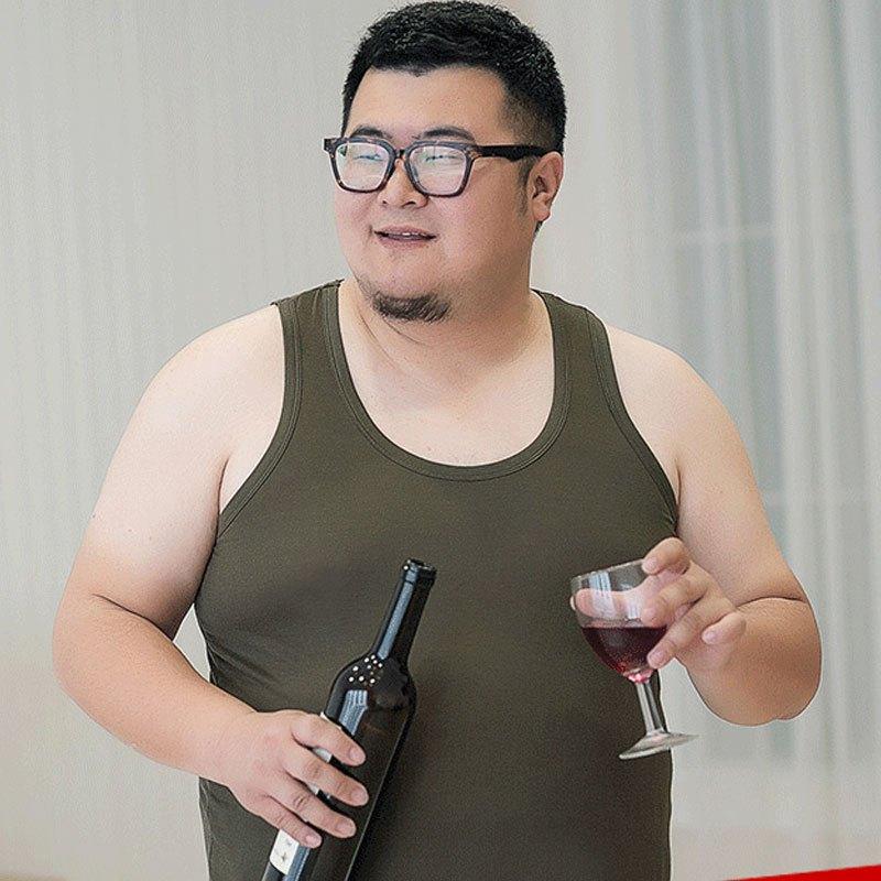 那个成人网站能用肥佬看_【买1送1】2017年新款加肥加大码汗背心男夏季薄款肥佬胖子莫代尔健身
