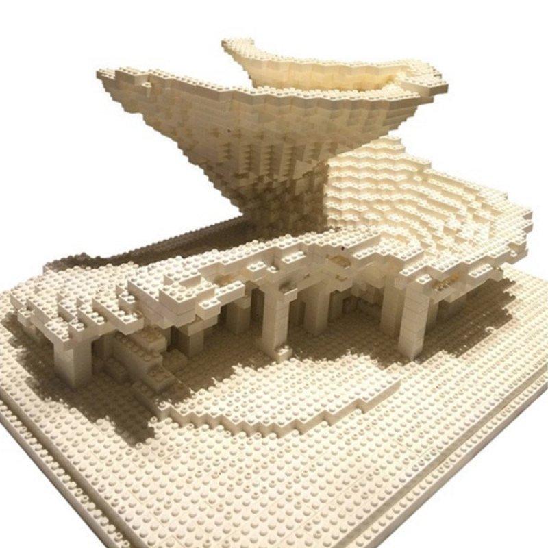 砖块 积木玩具 媲美乐高积木 玩具创意建筑设计砖块积木安全健康玩具3