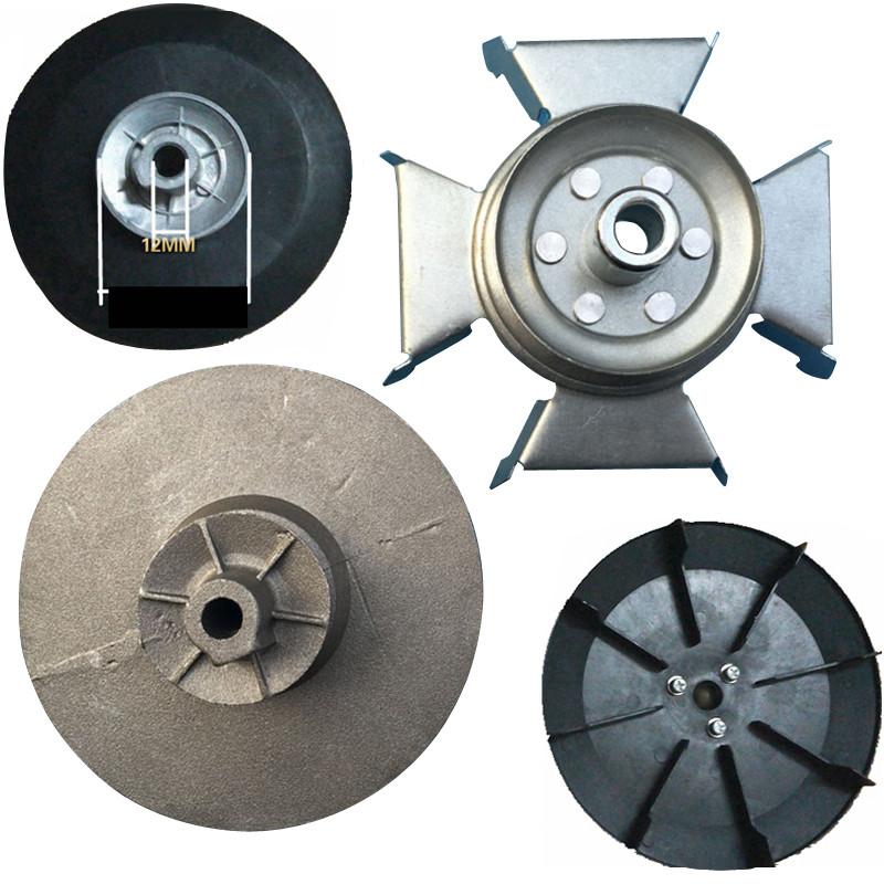 帮客材配 安居士双缸洗衣机洗衣桶皮带轮洗涤电机马达铁风叶带轮 10轴图片