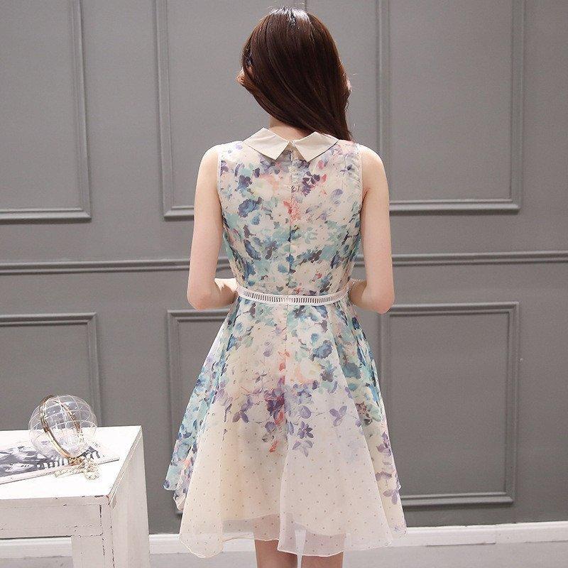 连衣裙夏甜美