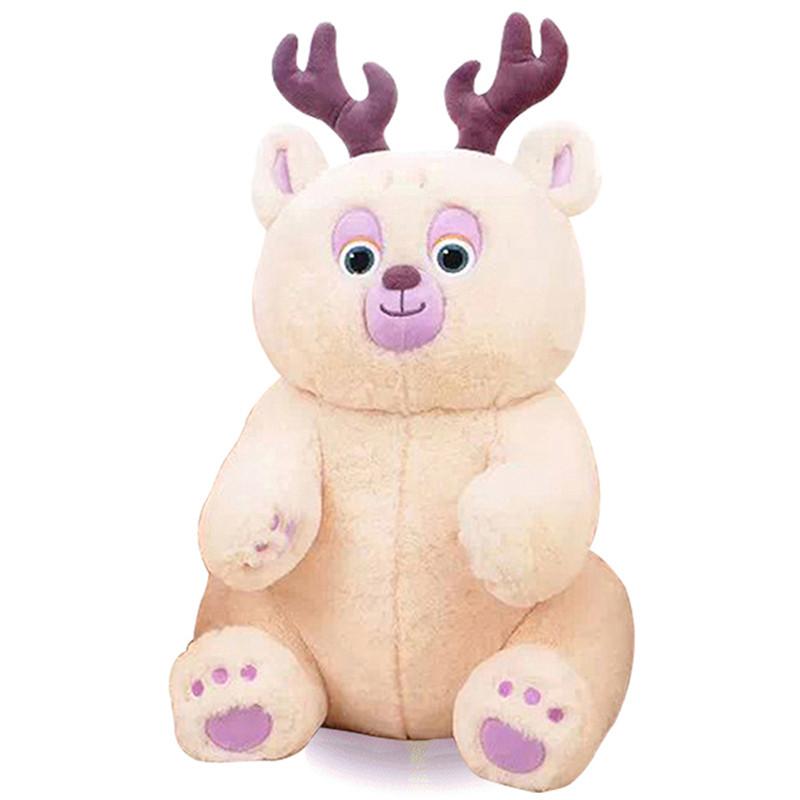 雪岭熊风 少年熊大 熊二 光头强 小雪熊团子 毛绒公仔 可爱礼物