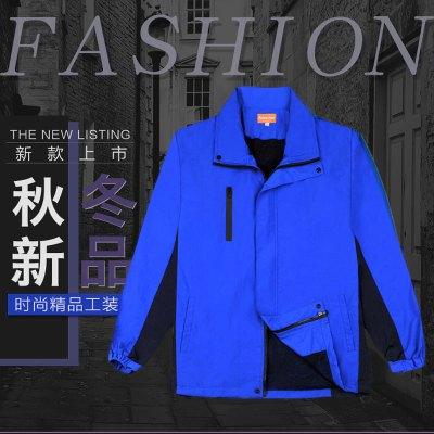 (非蘇寧工裝款預售,30天之內發貨)幫客材配 spine line新款秋冬季雙層藍色工裝
