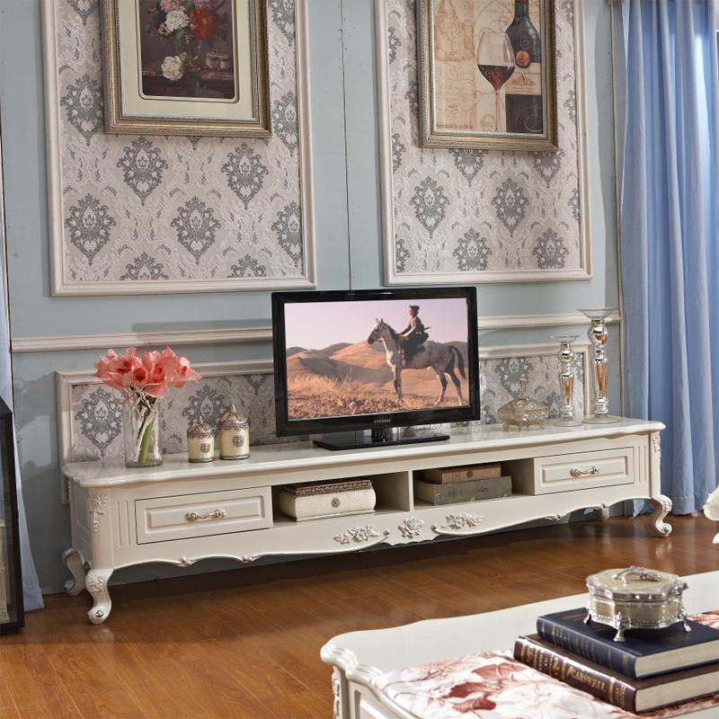 欧式电视柜组合影视机柜简欧实木客厅