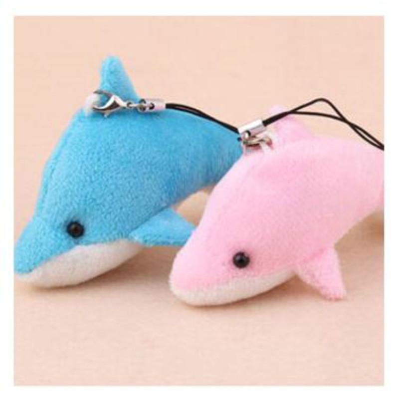 毛绒玩具小海豚公仔布娃娃玩偶挂件【赠品】