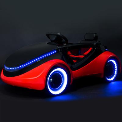新款儿童电动车宝宝四轮小汽车带遥控婴儿可坐玩具车小孩1-2-3-4岁电动童车科幻限量高端电瓶车儿童礼物