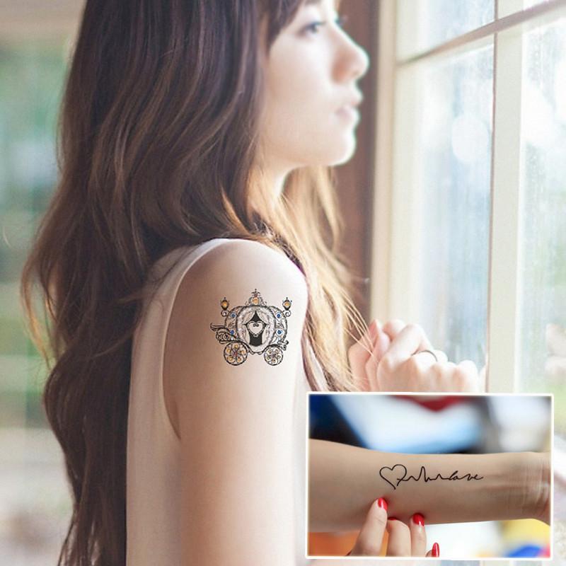 qq头像纹身女花臂分享展示