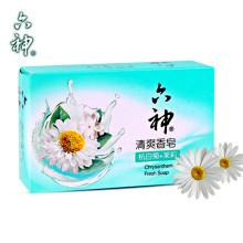 【5盒装】六神清爽香皂(杭白菊+茉莉)125g