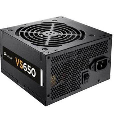 美商海盗船(USCorsair)额定650W VS650 电源(80PLUS认证/12cm风扇/转换效率85%/主动PF