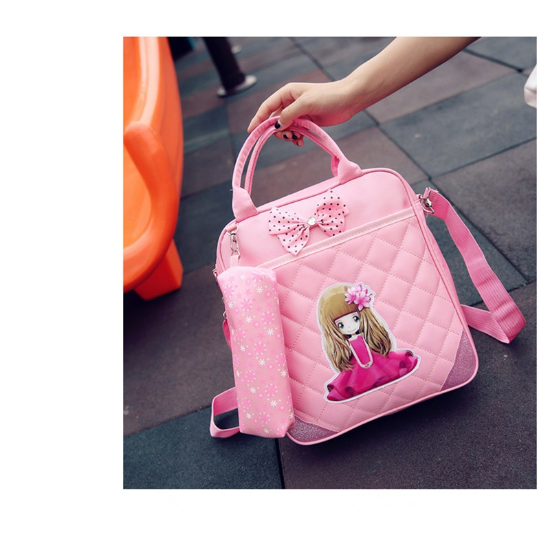 幼儿园手提袋男女通用儿童补习包手拎书袋双肩补课包