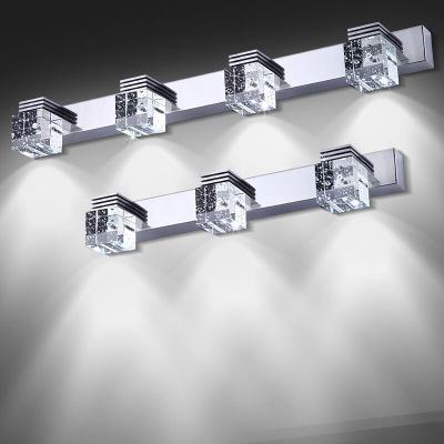 镜前灯led简约现代防水防雾壁灯浴室卫生间化妆灯镜柜灯