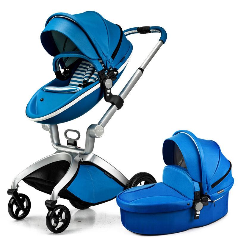 婴儿推车高景观儿童推车可躺可坐婴儿车推车宝宝推车轻便可折叠多功能