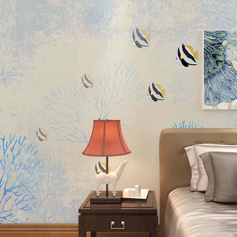 海中魚裝飾畫 客廳影視