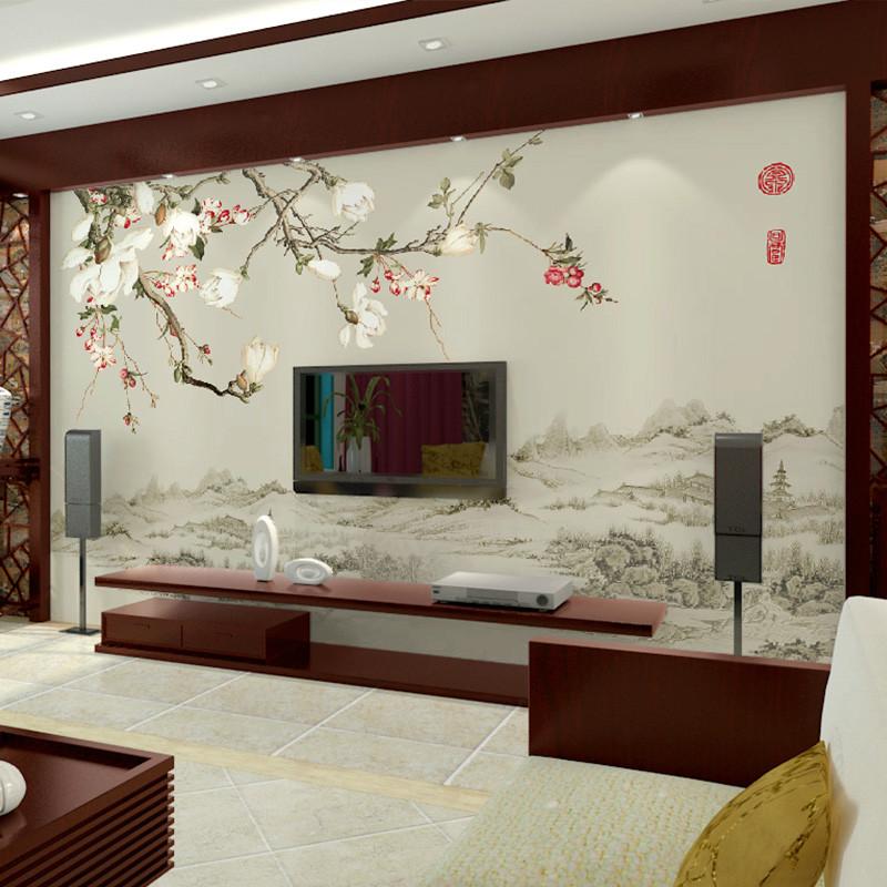 4d电视背景墙壁画图片