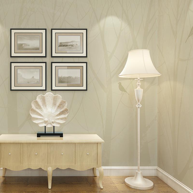 卡茵 定制创意客厅卧室壁纸 手绘现代简约北欧素雅墙纸 影视墙沙发墙