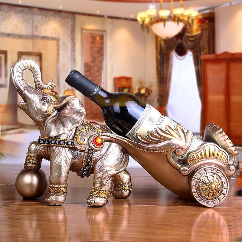 红酒架 酒托 工艺品 树脂单瓶酒架 欧式客厅酒柜装饰品 葡萄酒瓶架