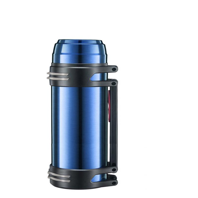 户外不锈钢大容量保温杯男士保温壶车载旅游保温水壶中号保温瓶图片
