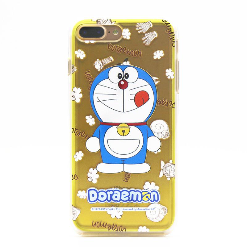 哆啦a梦iphone7手机壳苹果7plus手机套叮当猫软边框卡通保护壳4.7/5.