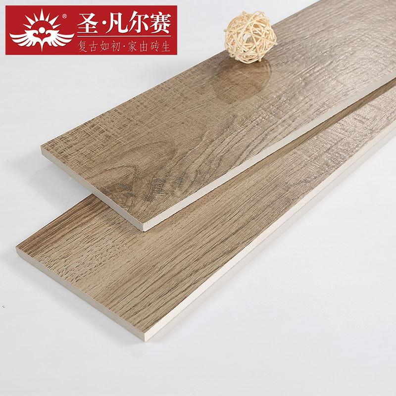 圣凡尔赛瓷砖 胡杨木 仿古砖仿实木地砖客厅卧室书房阳台地板砖瓷砖