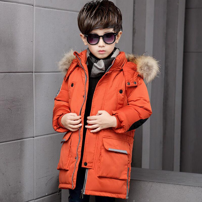玩对外套羽绒服男童中长款男孩童装冬装儿童男大童反季中大童中嘉电力设备四川图片