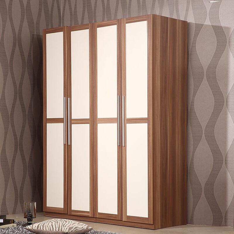 家具床高箱储物床床头柜四门衣柜梳妆台妆凳卧室家具双人套装婚房组合
