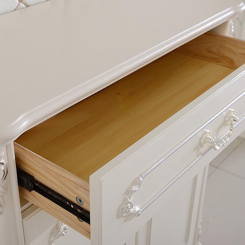 a家家具 欧式鞋柜 下架防尘门口客厅柜子大鞋橱木质鞋柜收纳多层 鞋柜