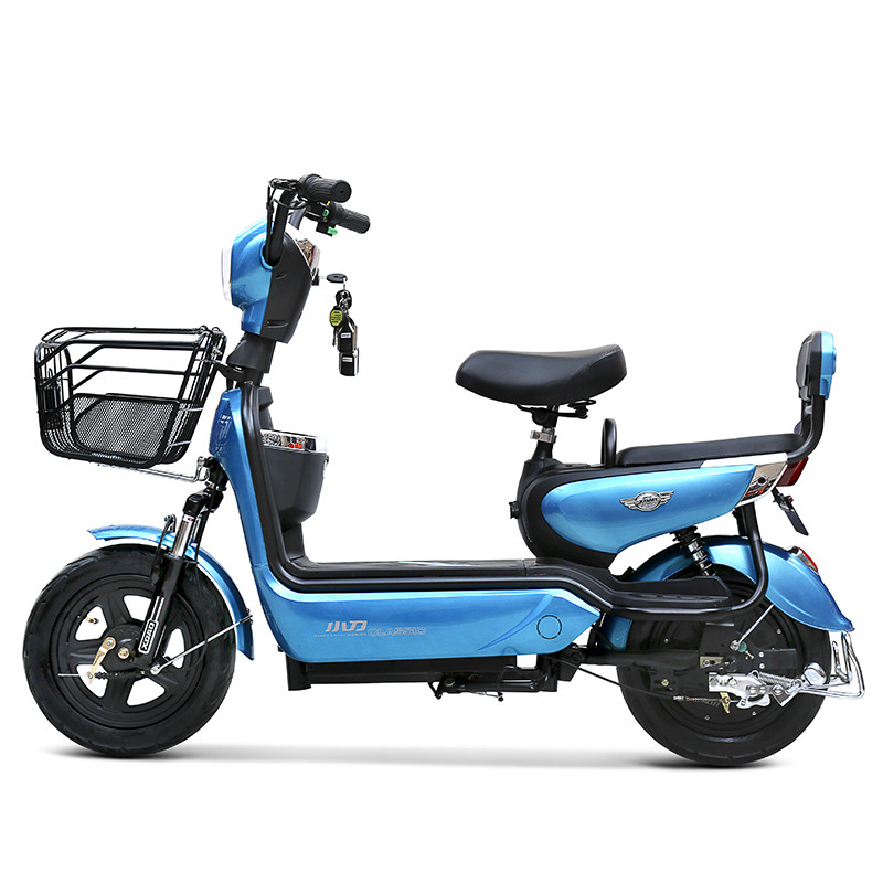 小刀電動車48v電動自行車全新雙人踏板電瓶車滑板車助力車男女代步車