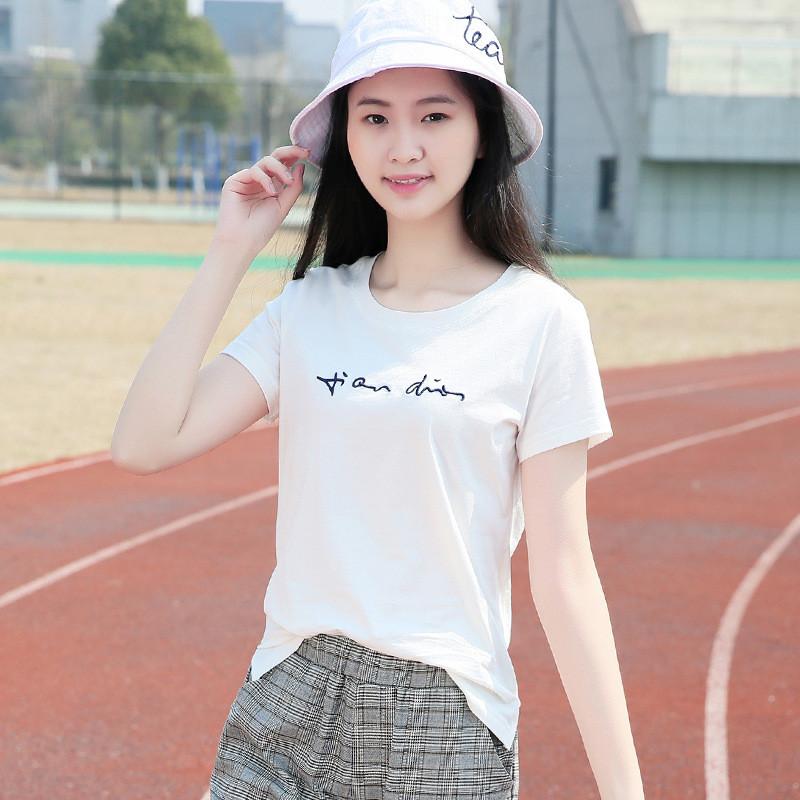 少女装_2017夏季13少女装14纯棉t恤12女大童15初高中学生16岁
