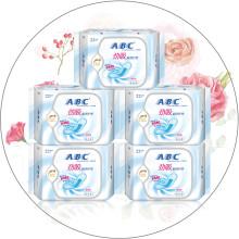 ABC超吸棉柔护垫量多型163mm22片*5包