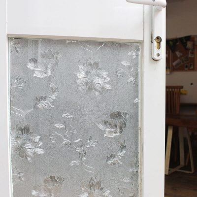 (吉朵芸)韩国3D静电玻璃贴膜磨砂无胶免胶卫生间遮光贴膜浴室窗户贴纸防晒