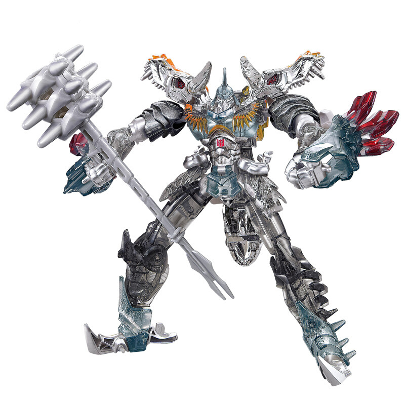 路霸 变形金刚玩具机器人 合金版拼装钢索恐龙模型儿童男孩礼物