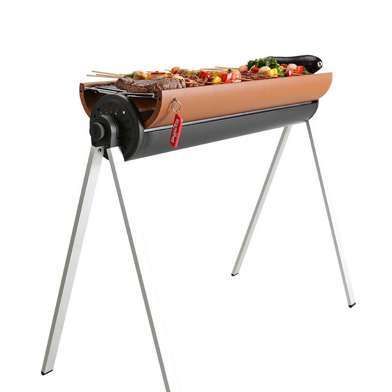 欧文的派对户外便携烧烤架子木炭bbq烤肉工具家用加厚