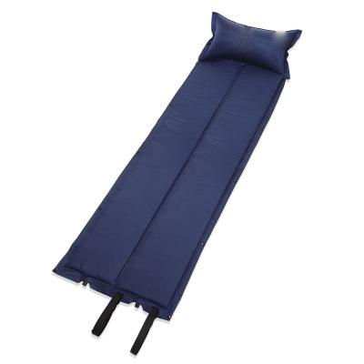 户外防潮垫 对折带枕头自动充气垫 帐篷垫地铺 睡垫 帐篷午休垫 可拼接防潮垫