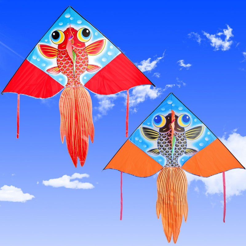 三角形的风筝卡通画