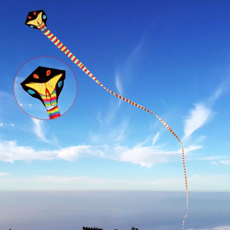风筝8米16米30米40米大蛇风筝 眼镜蛇风筝 好飞