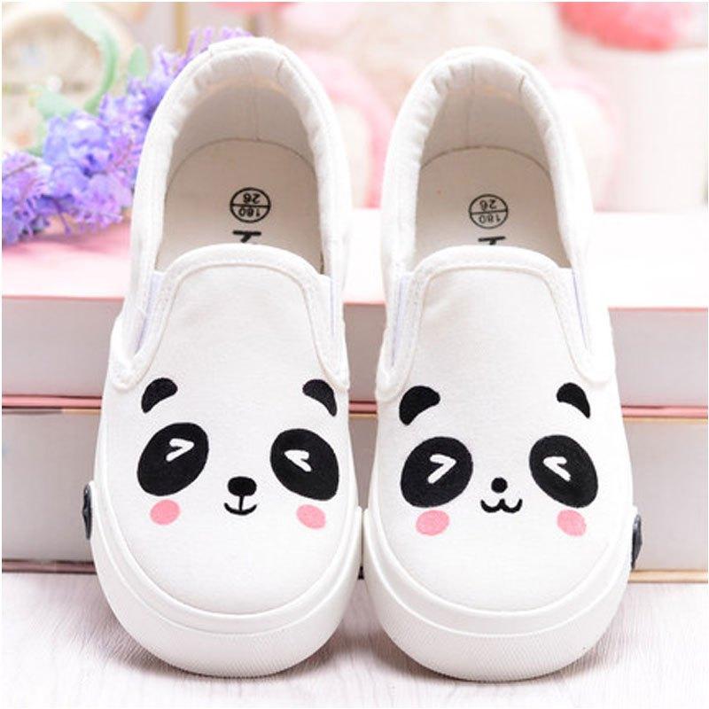 春季儿童帆布鞋女童板鞋休闲鞋一脚蹬透气小白