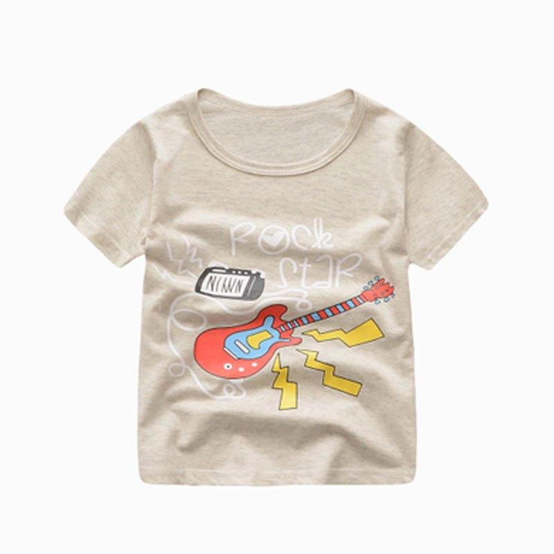 儿童t恤女童打底衫男童上衣半袖夏装中大童装婴儿宝宝