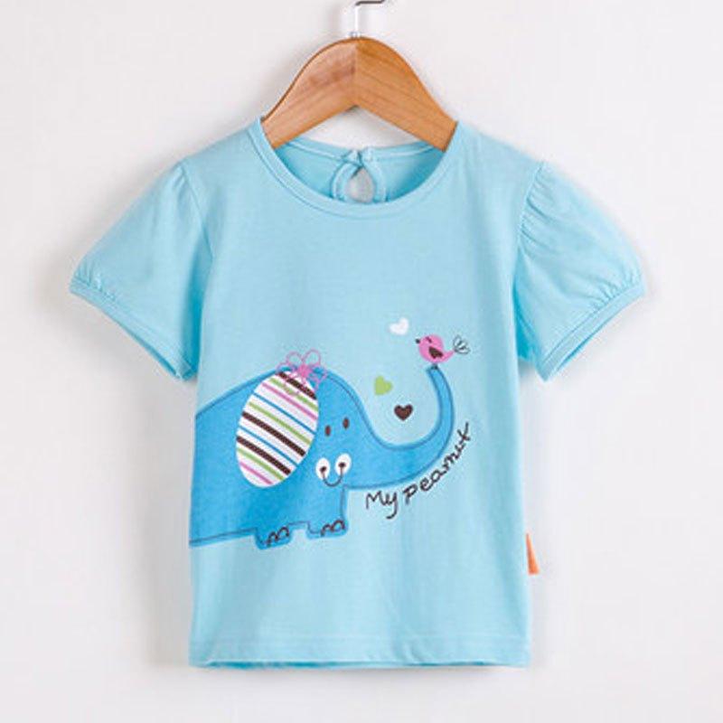 童装宝宝短袖夏装儿童t恤男童上衣女童打底衫婴儿衣服