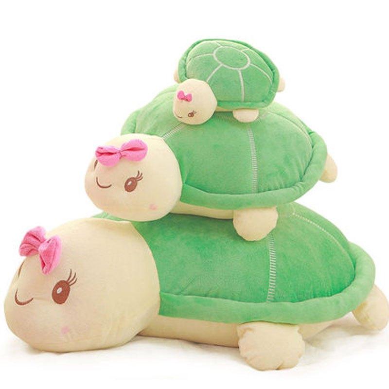 龟抱枕创意卡通玩偶布娃娃可爱靠垫女生日礼物男女宝宝小动物可爱毛绒