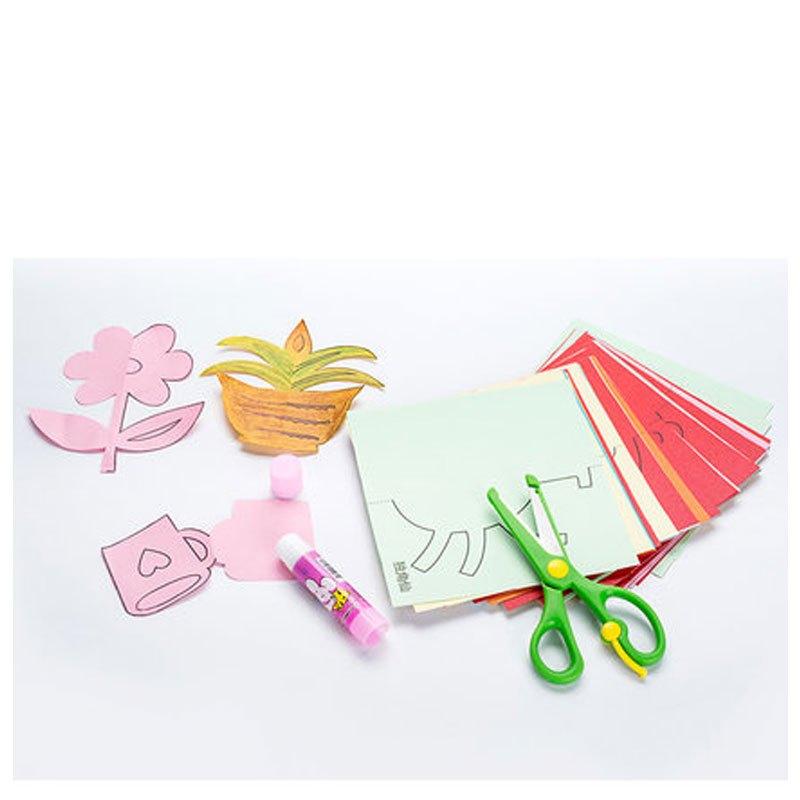 儿童剪纸diy制作立体折纸幼儿园手工制作材料3-6岁折纸益智玩具书当季