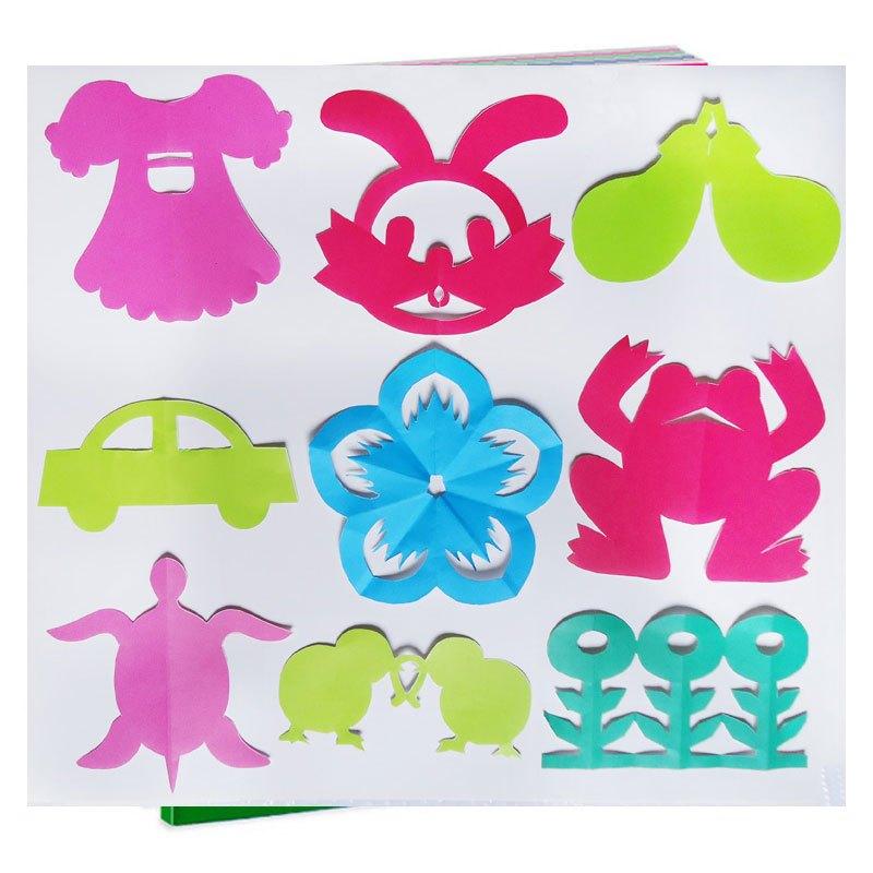 儿童剪纸手工折纸书制作窗花幼儿园剪纸书宝宝益智早教玩具送剪刀当季