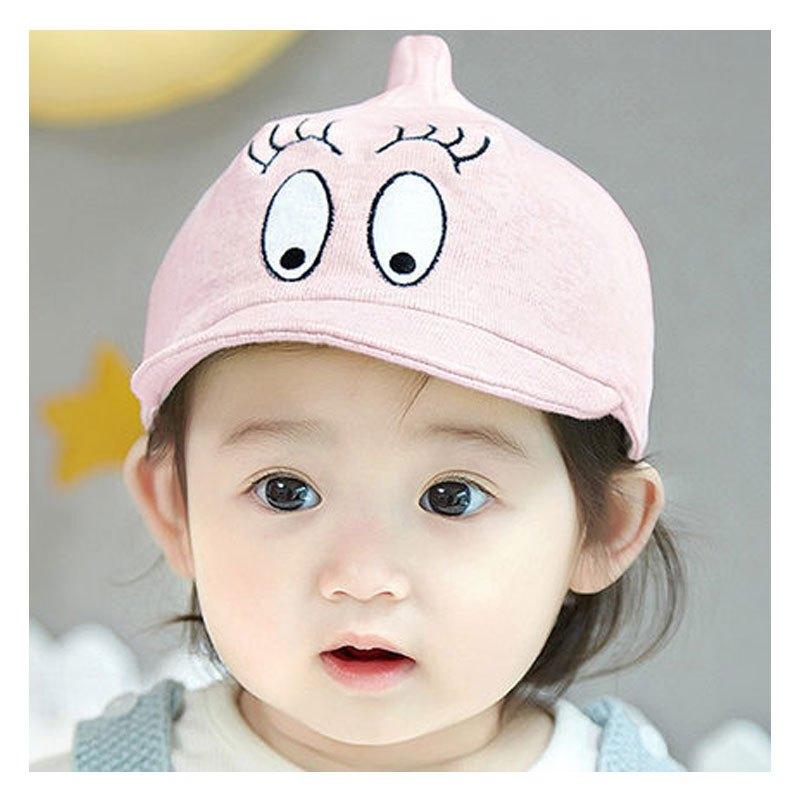 婴儿鸭舌帽0-3-6-12个月男女宝宝帽子棒球帽秋季当季新品可爱卡通小